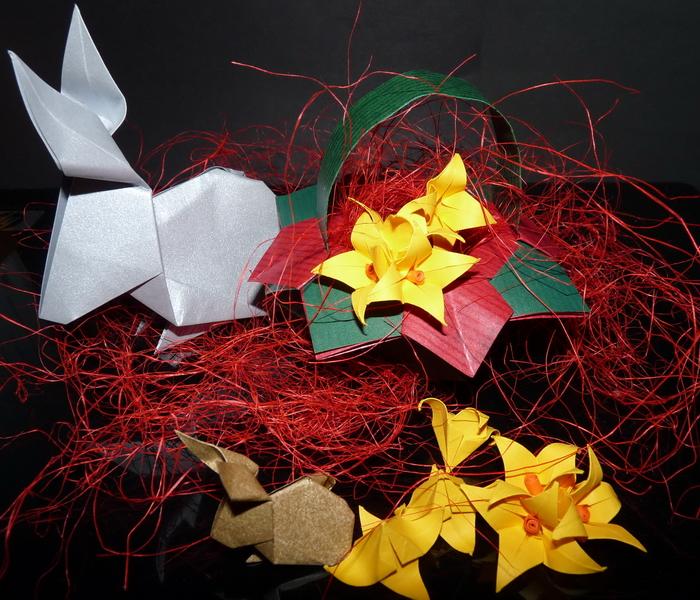plon z warsztatow origami z Seniorkami 22 lutego 2017m